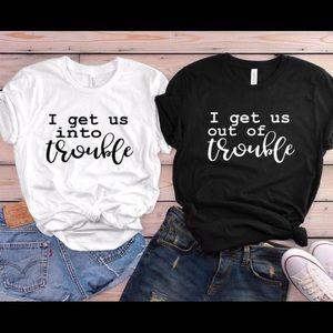 Match Sibling / friend T-shirt